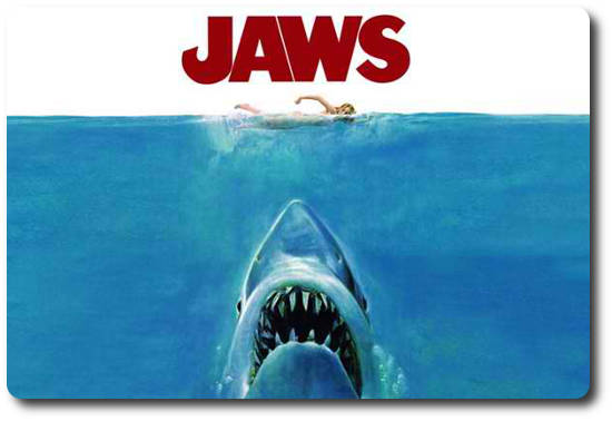Jaws Movie Poster Image