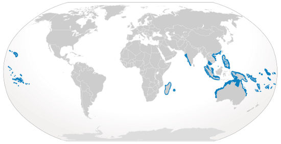Gray Reef Shark Habitat Map